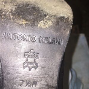 Antonio Melani dress cowboy ankle boots